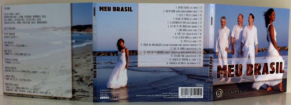 MANTECA - CD Meu Brasil - Vorderseiten