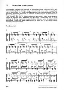 Snare Drum Technik II - Seite 118 Rudimental  ton ab Musikverlag