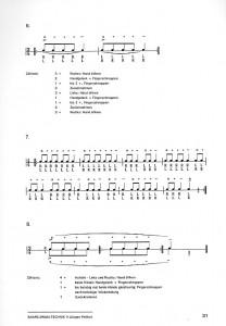 Snare Drum Technik II - Seite 31 Rudimental ton ab Musikverlag